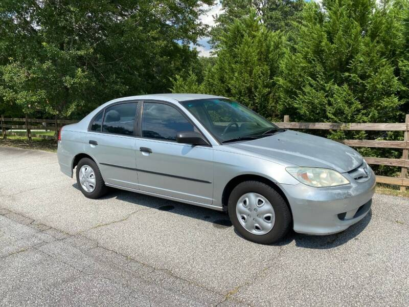 2004 Honda Civic for sale at Front Porch Motors Inc. in Conyers GA