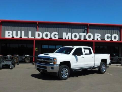 2019 Chevrolet Silverado 2500HD for sale at Bulldog Motor Company in Borger TX