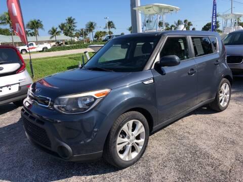 2015 Kia Soul for sale at Key West Kia - Wellings Automotive & Suzuki Marine in Marathon FL