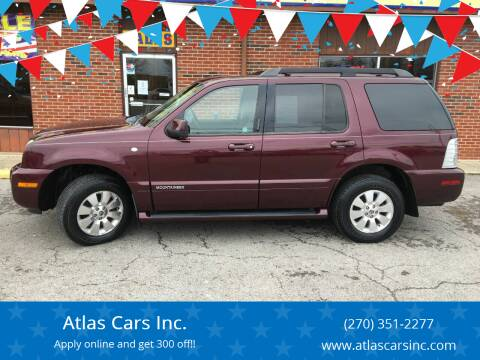2008 Mercury Mountaineer for sale at Atlas Cars Inc. in Radcliff KY