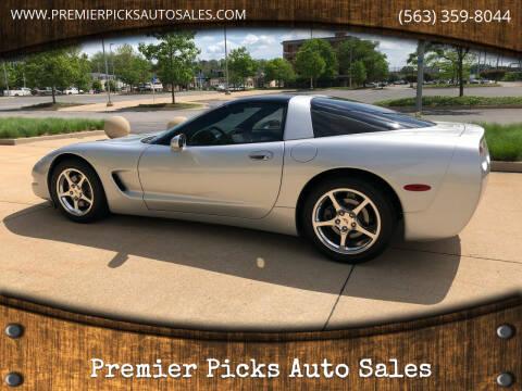 2003 Chevrolet Corvette for sale at Premier Picks Auto Sales in Bettendorf IA