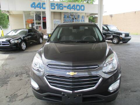 2016 Chevrolet Equinox for sale at Elite Auto Sales in Willowick OH