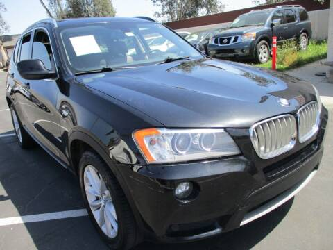 2014 BMW X3 for sale at F & A Car Sales Inc in Ontario CA