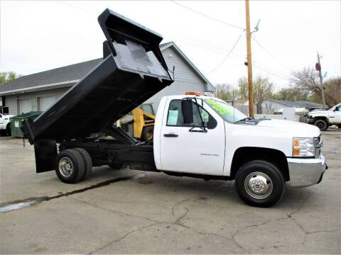 2007 Chevrolet Silverado 3500HD CC for sale at Steffes Motors in Council Bluffs IA