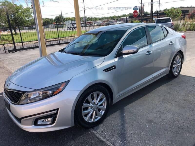 2014 Kia Optima for sale at Gold Star Motors Inc. in San Antonio TX