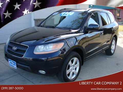 2008 Hyundai Santa Fe for sale at Liberty Car Company - II in Waterloo IA