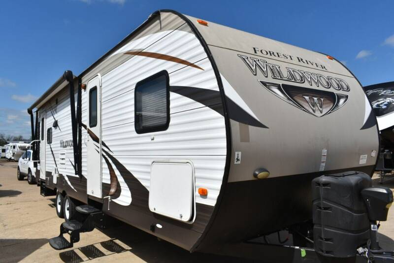2015 Forest River Wildwood 28RLS for sale at Buy Here Pay Here RV in Burleson TX
