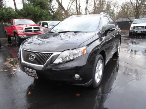 2010 Lexus RX 350 for sale at LULAY'S CAR CONNECTION in Salem OR