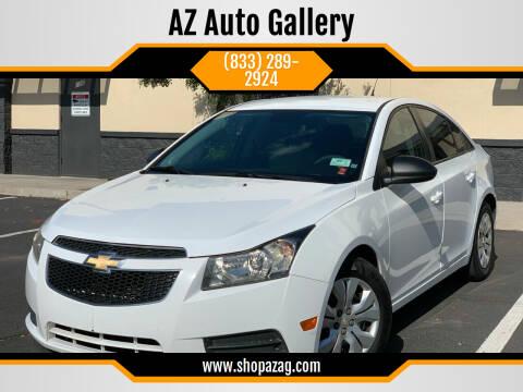 2013 Chevrolet Cruze for sale at AZ Auto Gallery in Mesa AZ