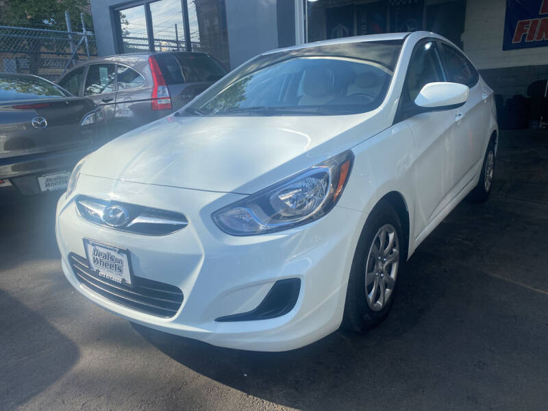 2014 Hyundai Accent for sale at DEALS ON WHEELS in Newark NJ