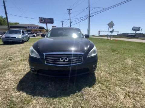2012 Infiniti M37 for sale at N & A Metro Motors in Dallas TX