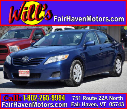 2011 Toyota Camry for sale at Will's Fair Haven Motors in Fair Haven VT