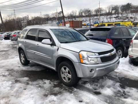 2006 Chevrolet Equinox for sale at Giordano Auto Sales in Hasbrouck Heights NJ