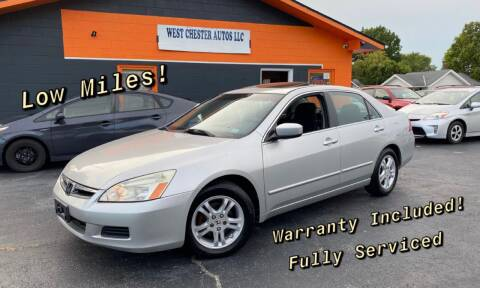 2006 Honda Accord for sale at West Chester Autos in Hamilton OH
