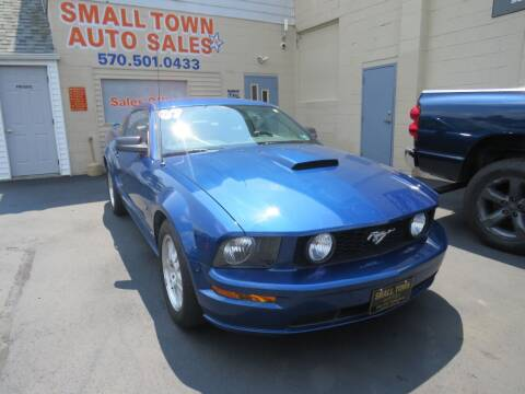 2007 Ford Mustang for sale at Small Town Auto Sales in Hazleton PA