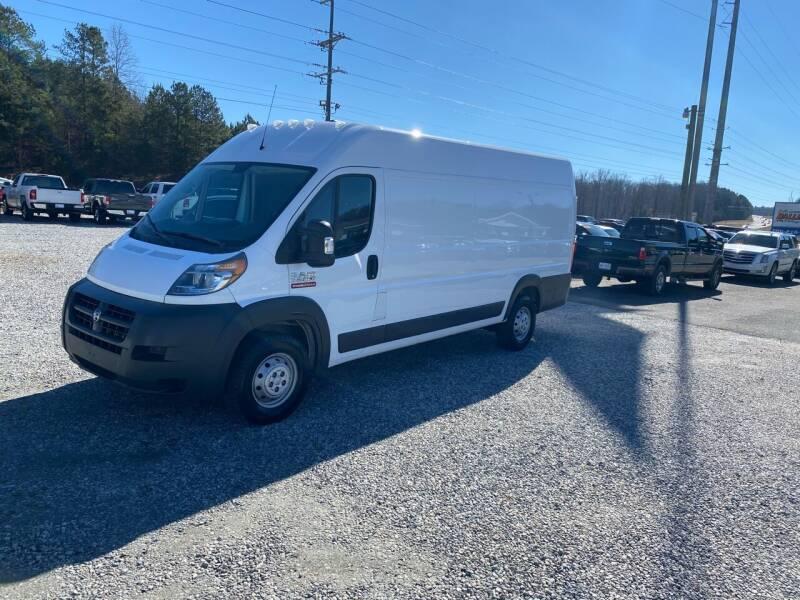 2018 RAM ProMaster Cargo for sale at Billy Ballew Motorsports in Dawsonville GA