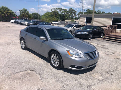 2014 Chrysler 200 for sale at Friendly Finance Auto Sales in Port Richey FL