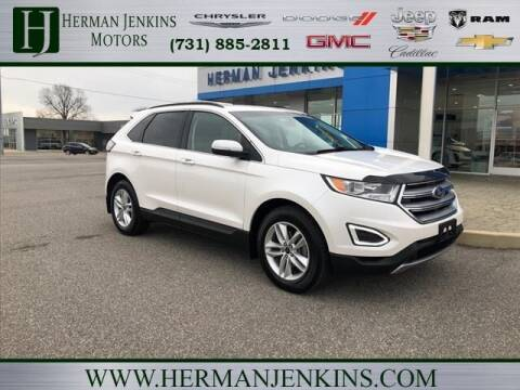 2016 Ford Edge for sale at Herman Jenkins Used Cars in Union City TN