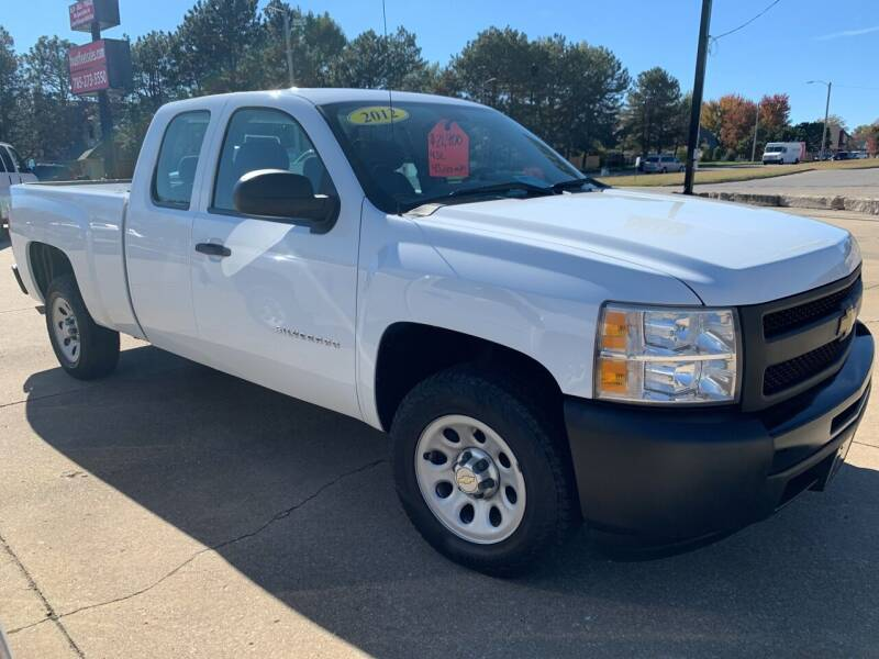 2012 Chevrolet Silverado 1500 for sale at Foust Fleet Leasing in Topeka KS