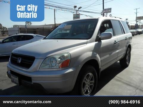 2004 Honda Pilot for sale at Car City Ontario in Ontario CA