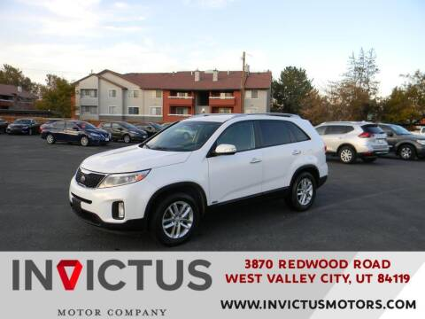 2014 Kia Sorento for sale at INVICTUS MOTOR COMPANY in West Valley City UT