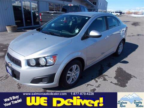 2014 Chevrolet Sonic for sale at QUALITY MOTORS in Salmon ID