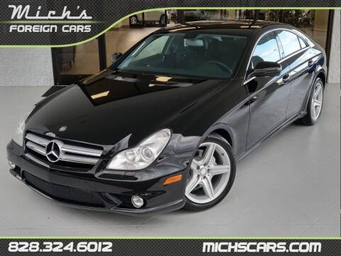 2010 Mercedes-Benz CLS for sale at Mich's Foreign Cars in Hickory NC