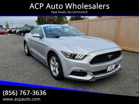2016 Ford Mustang for sale at ACP Auto Wholesalers in Berlin NJ