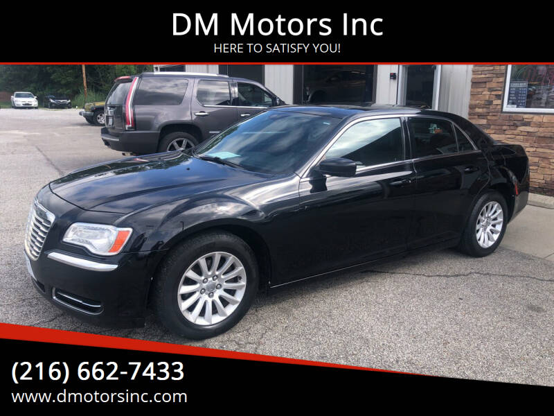 2014 Chrysler 300 for sale at DM Motors Inc in Maple Heights OH