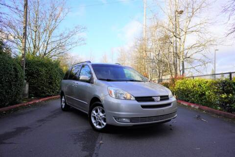 2005 Toyota Sienna for sale at TOPLINE AUTO GROUP in Kent WA