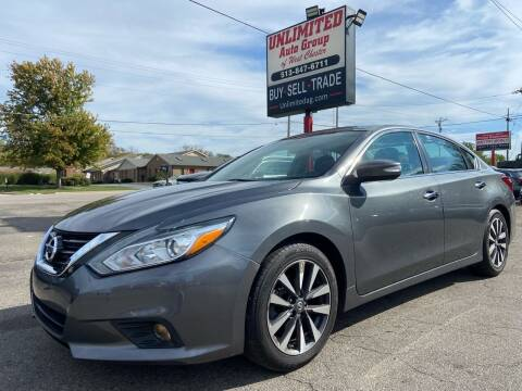 2017 Nissan Altima for sale at Unlimited Auto Group in West Chester OH