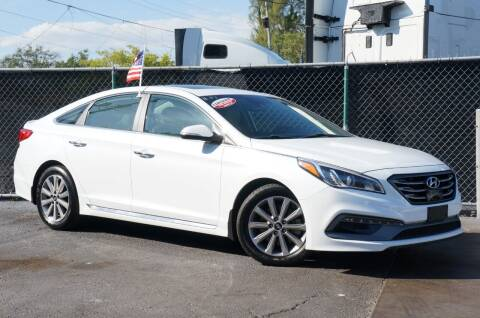 2017 Hyundai Sonata for sale at MATRIX AUTO SALES INC in Miami FL
