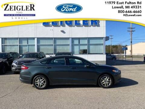 2015 Ford Fusion for sale at Zeigler Ford of Plainwell- Jeff Bishop in Plainwell MI