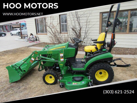 2016 John Deere 1025.R for sale at HOO MOTORS in Kiowa CO
