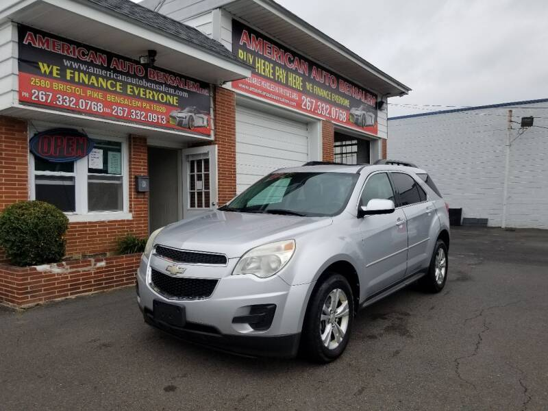 2012 Chevrolet Equinox for sale at American Auto Bensalem Inc in Bensalem PA