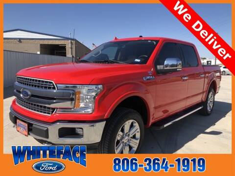 2018 Ford F-150 for sale at Whiteface Ford in Hereford TX