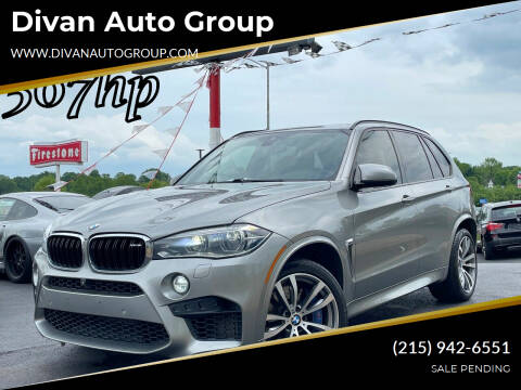 2016 BMW X5 M for sale at Divan Auto Group in Feasterville Trevose PA