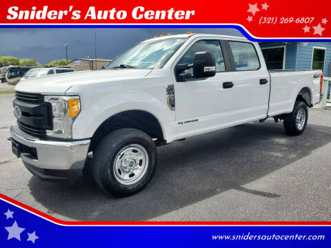 2017 Ford F-250 Super Duty for sale at Snider's Auto Center in Titusville FL