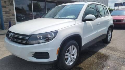 2016 Volkswagen Tiguan for sale at Tri City Auto Mart in Lexington KY