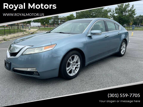 2009 Acura TL for sale at Royal Motors in Hyattsville MD