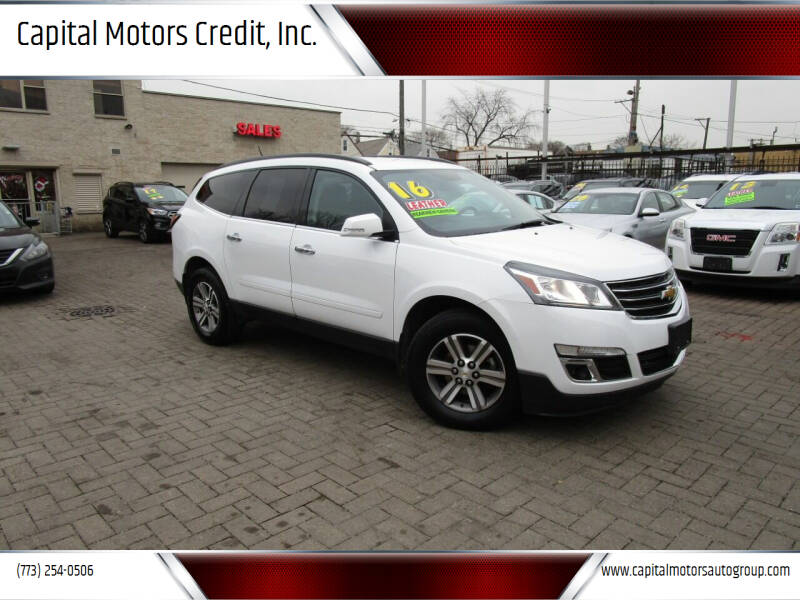 2016 Chevrolet Traverse for sale at Capital Motors Credit, Inc. in Chicago IL
