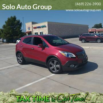 2014 Buick Encore for sale at Solo Auto Group in Mckinney TX