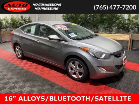 2012 Hyundai Elantra for sale at Auto Express in Lafayette IN