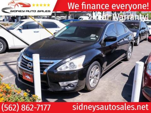 2015 Nissan Altima for sale at Sidney Auto Sales in Downey CA