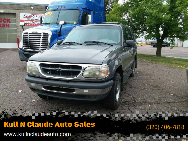 1998 Ford Explorer for sale at Kull N Claude Auto Sales in Saint Cloud MN