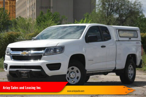 2015 Chevrolet Colorado for sale at Ariay Sales and Leasing Inc. - Pre Owned Storage Lot in Glendale CO