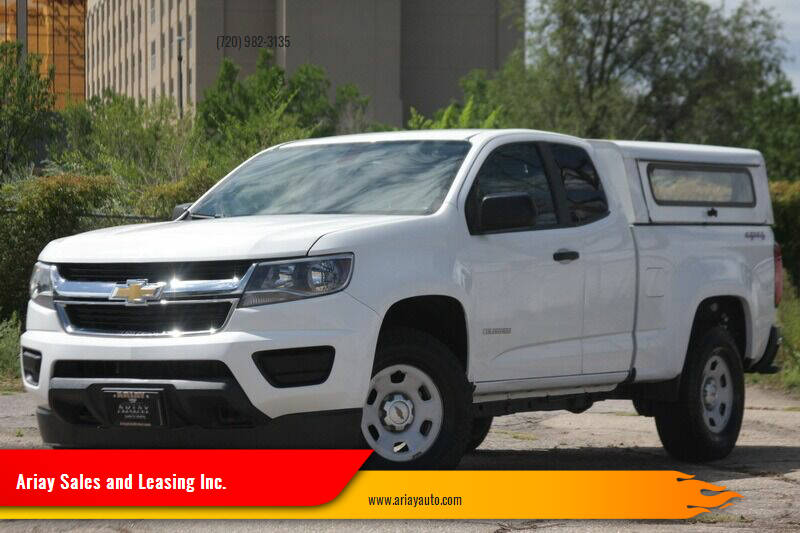 2015 Chevrolet Colorado for sale at Ariay Sales and Leasing Inc. - Pre Owned Storage Lot in Denver CO