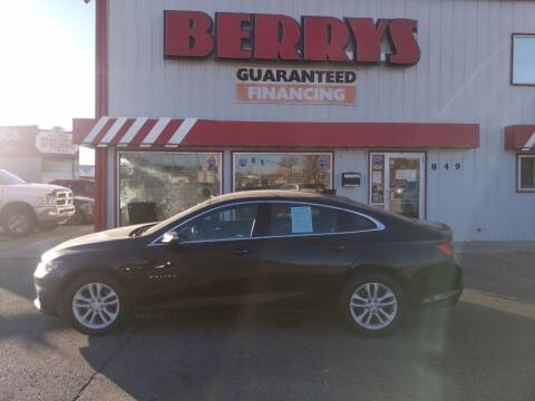 2018 Chevrolet Malibu for sale at Berry's Cherries Auto in Billings MT