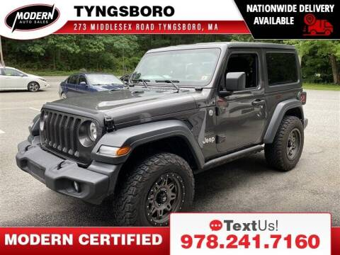 2019 Jeep Wrangler for sale at Modern Auto Sales in Tyngsboro MA