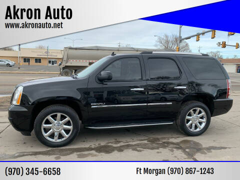 2010 GMC Yukon for sale at Akron Auto - Fort Morgan in Fort Morgan CO